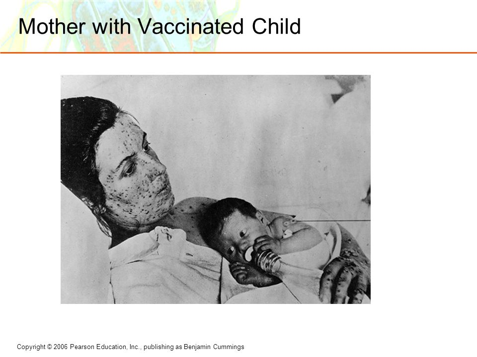 Mother with Vaccinated Child