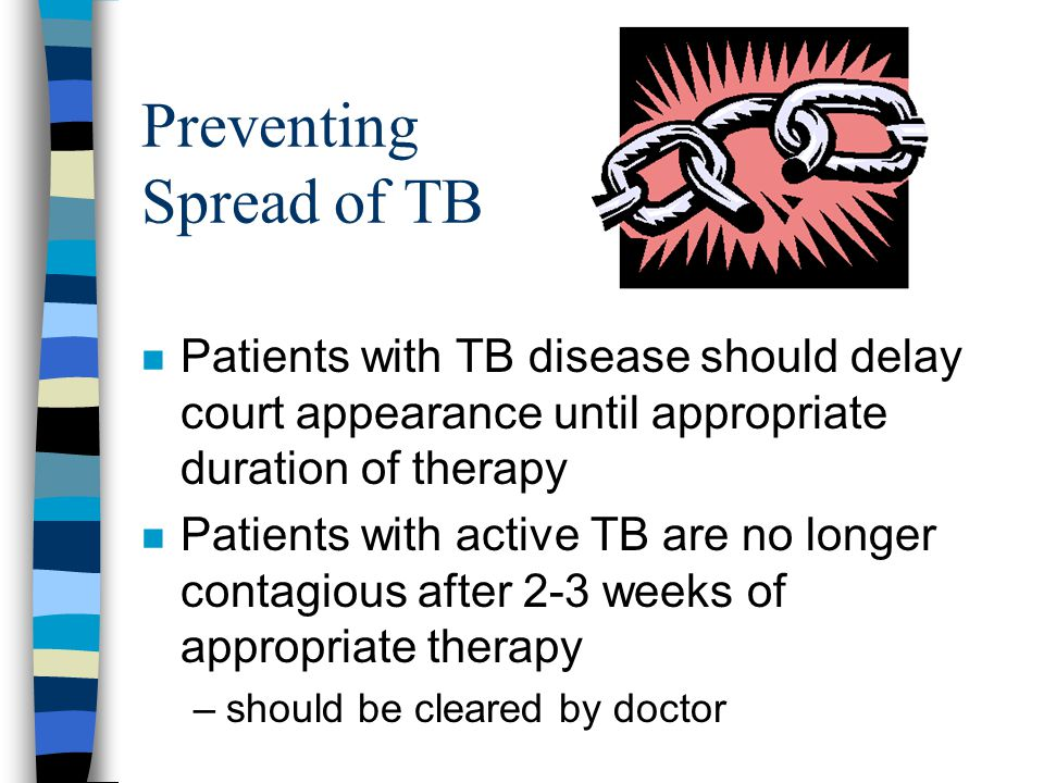 Preventing Spread of TB