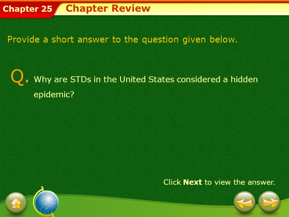Q. Why are STDs in the United States considered a hidden epidemic