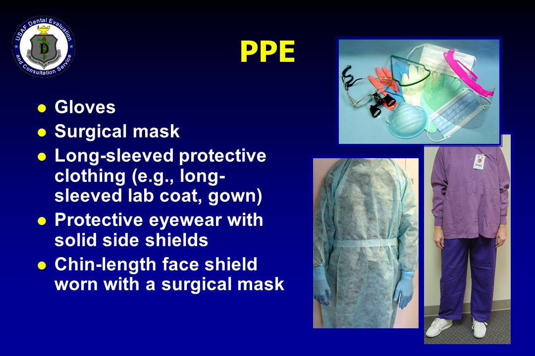 PPE Gloves Surgical mask
