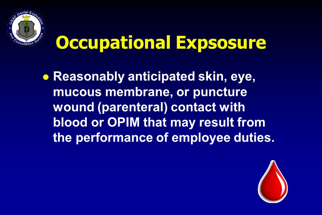 Occupational Expsosure