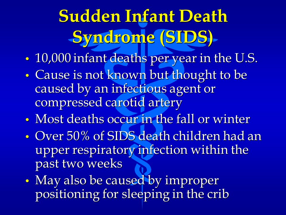 Sudden Infant Death Syndrome (SIDS)