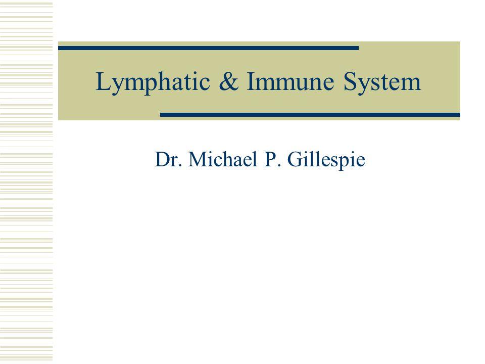 Lymphatic & Immune System