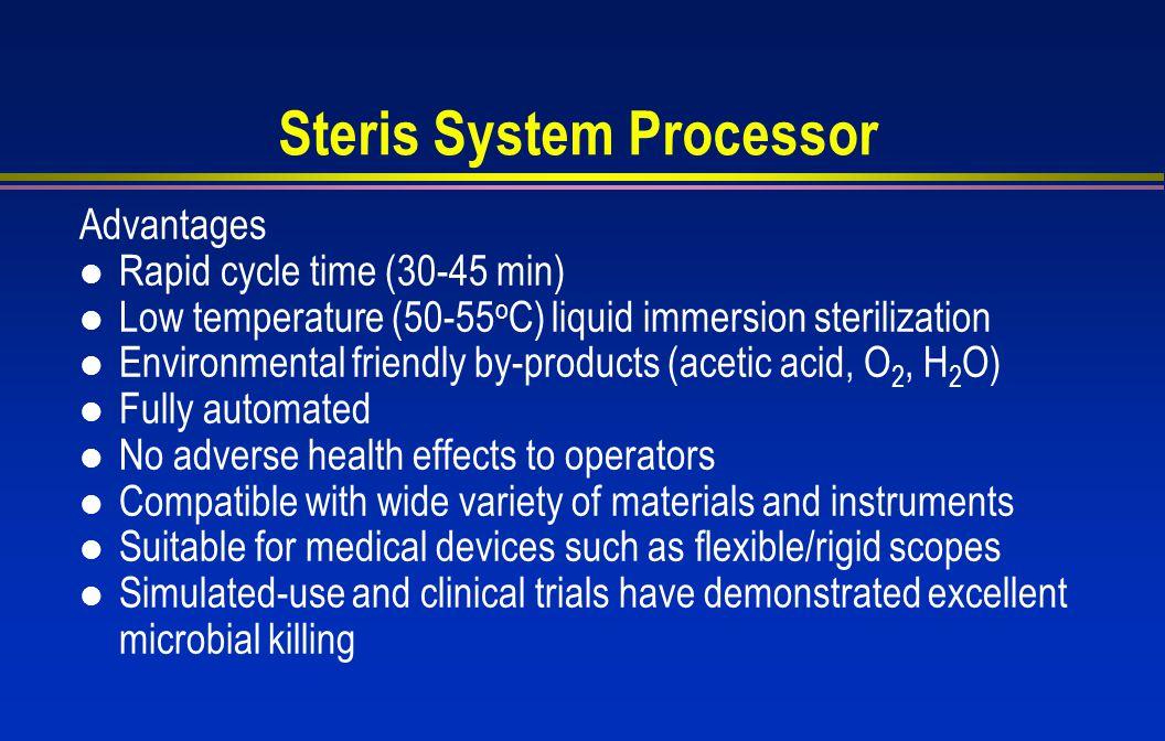 Steris System Processor