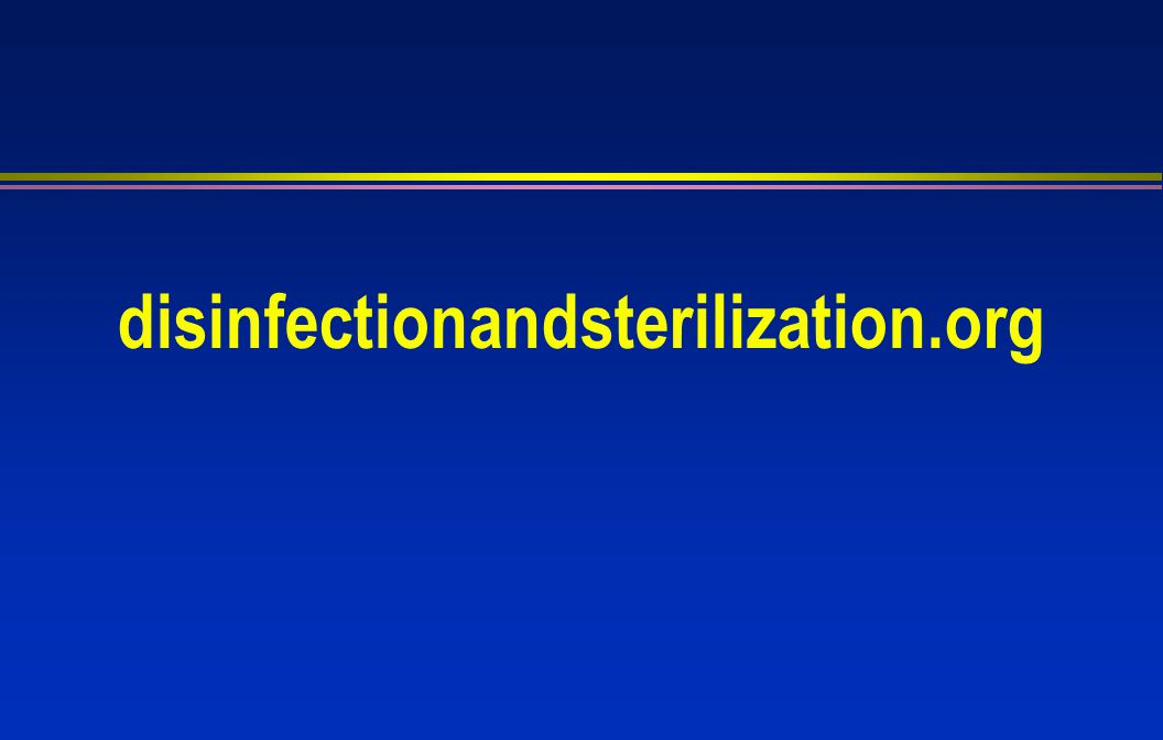disinfectionandsterilization.org