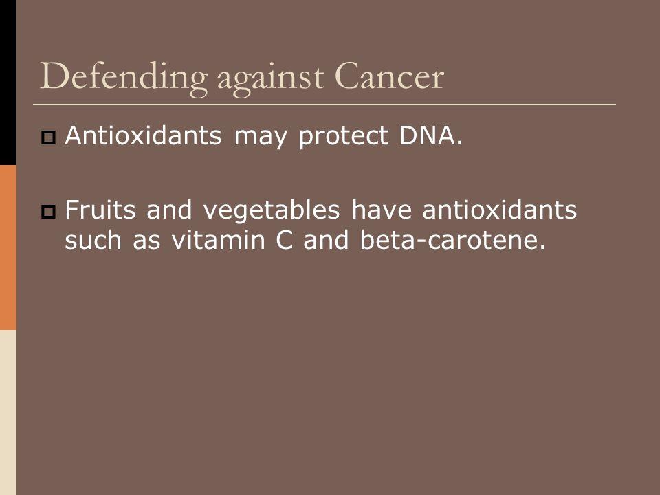 Defending against Cancer