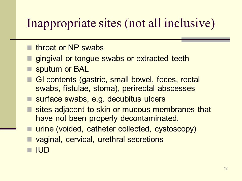 Inappropriate sites (not all inclusive)