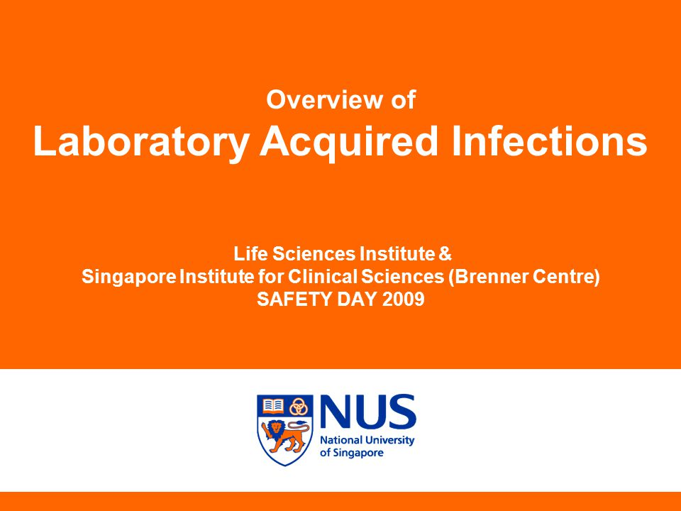 Laboratory Acquired Infections