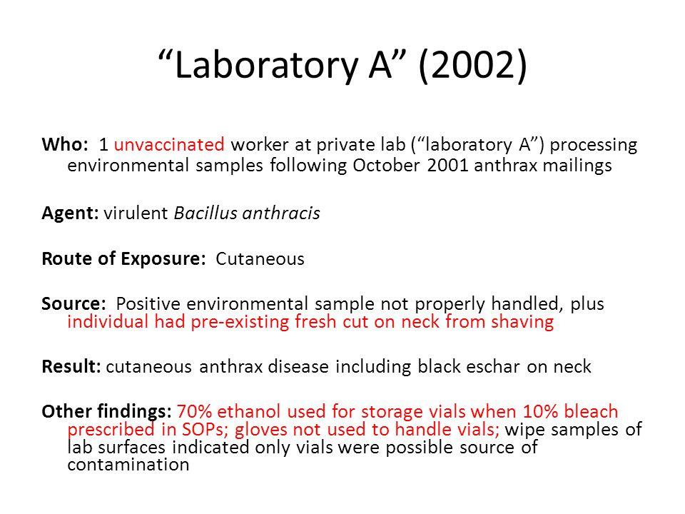 Laboratory A (2002)