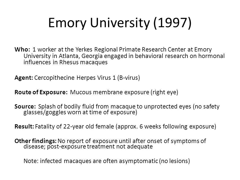 Emory University (1997)