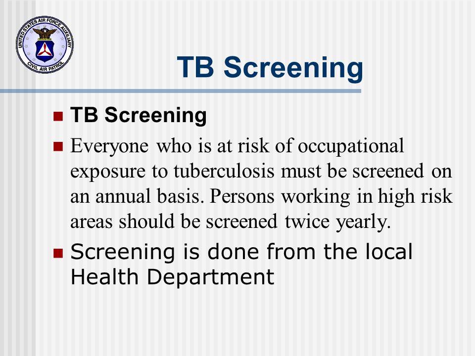 TB Screening TB Screening