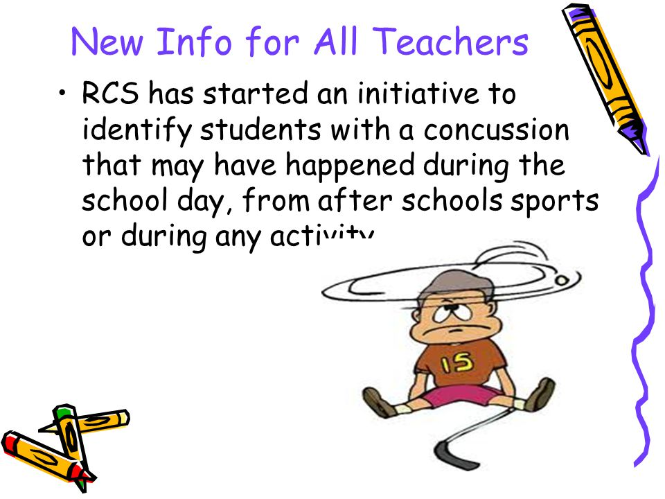New Info for All Teachers