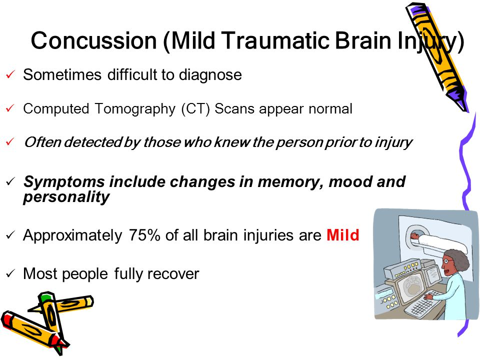Concussion (Mild Traumatic Brain Injury)