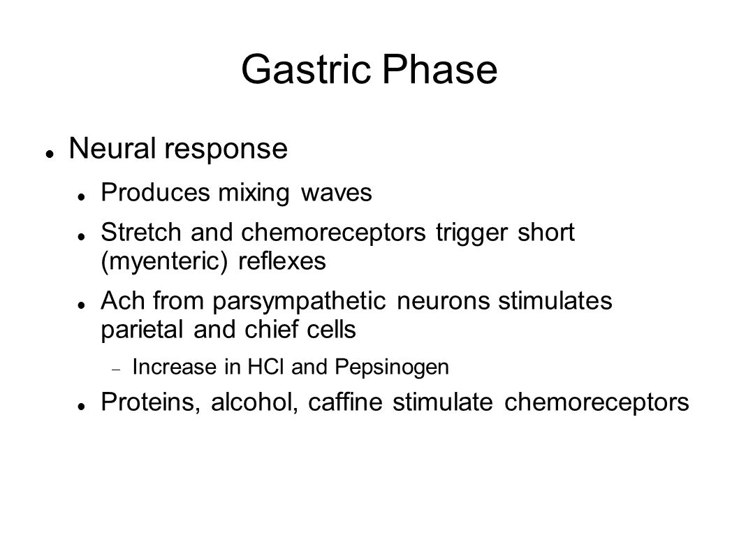 Gastric Phase Neural response Produces mixing waves