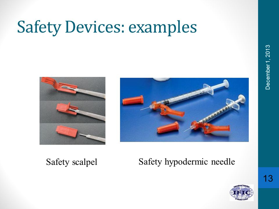 Safety Devices: examples