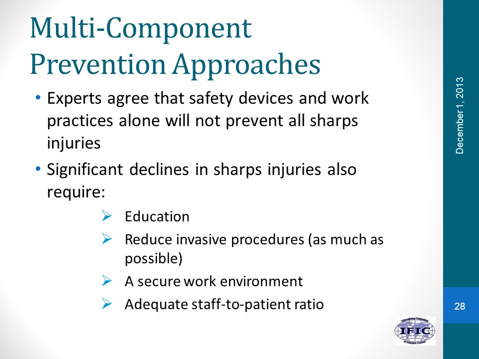 Multi-Component Prevention Approaches