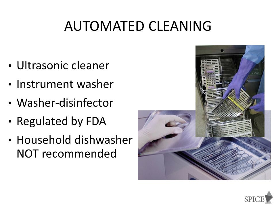 Automated Cleaning Ultrasonic cleaner Instrument washer