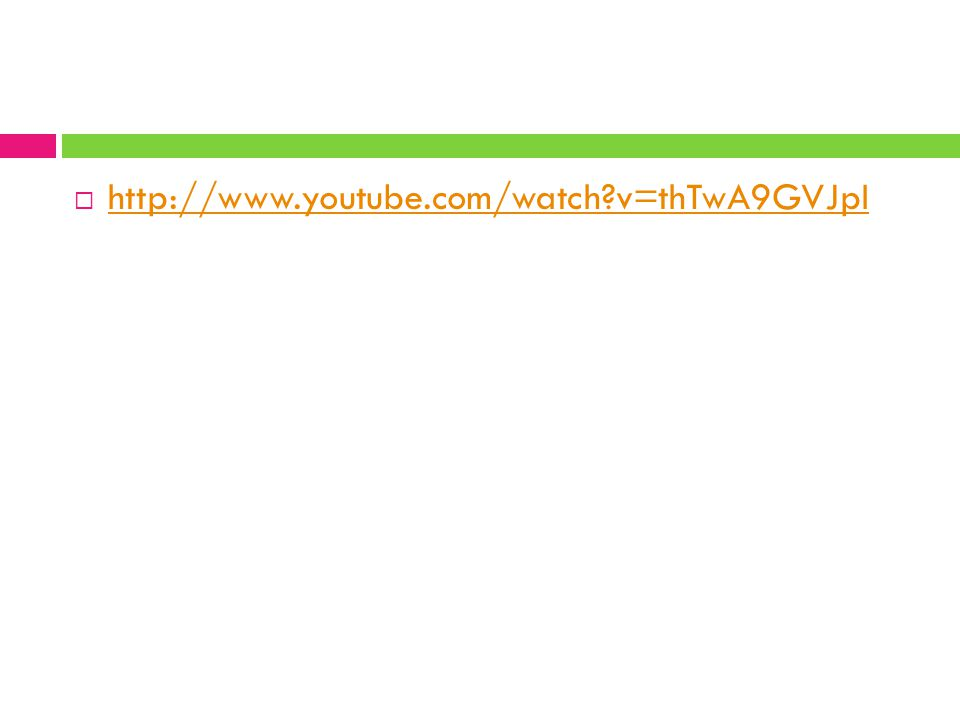 http://www.youtube.com/watch v=thTwA9GVJpI