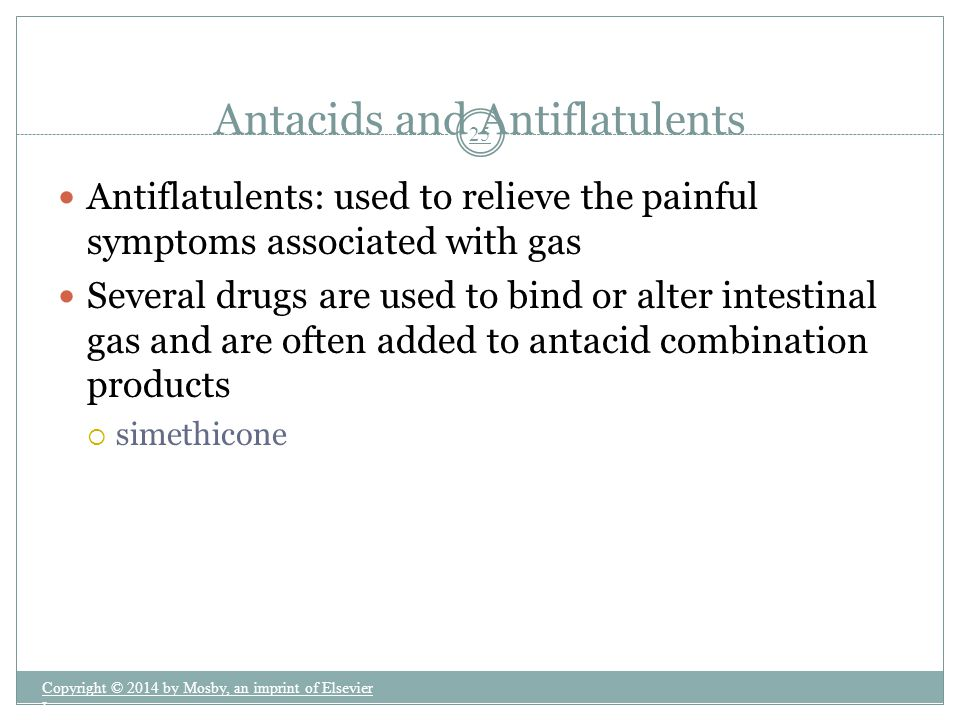 Antacids and Antiflatulents
