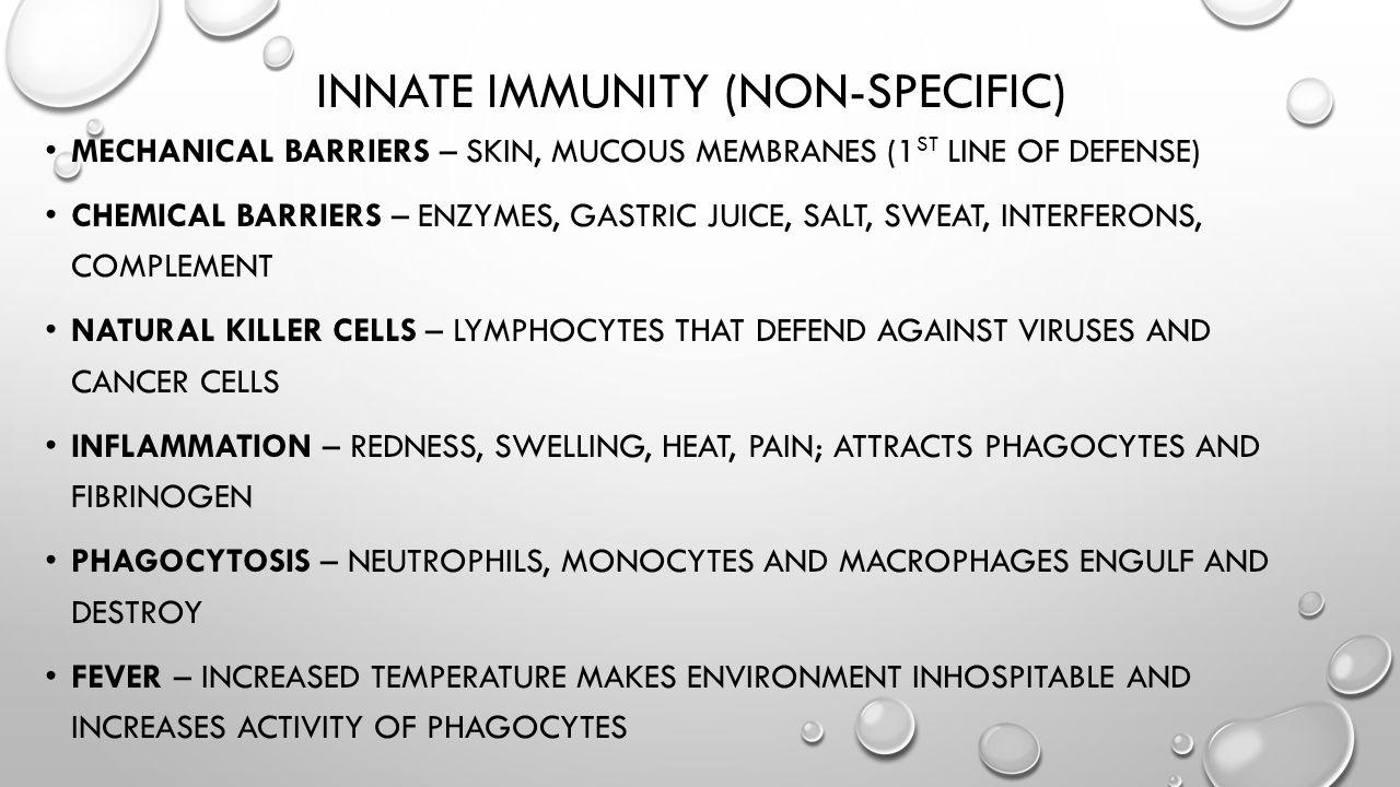 Innate immunity (non-Specific)