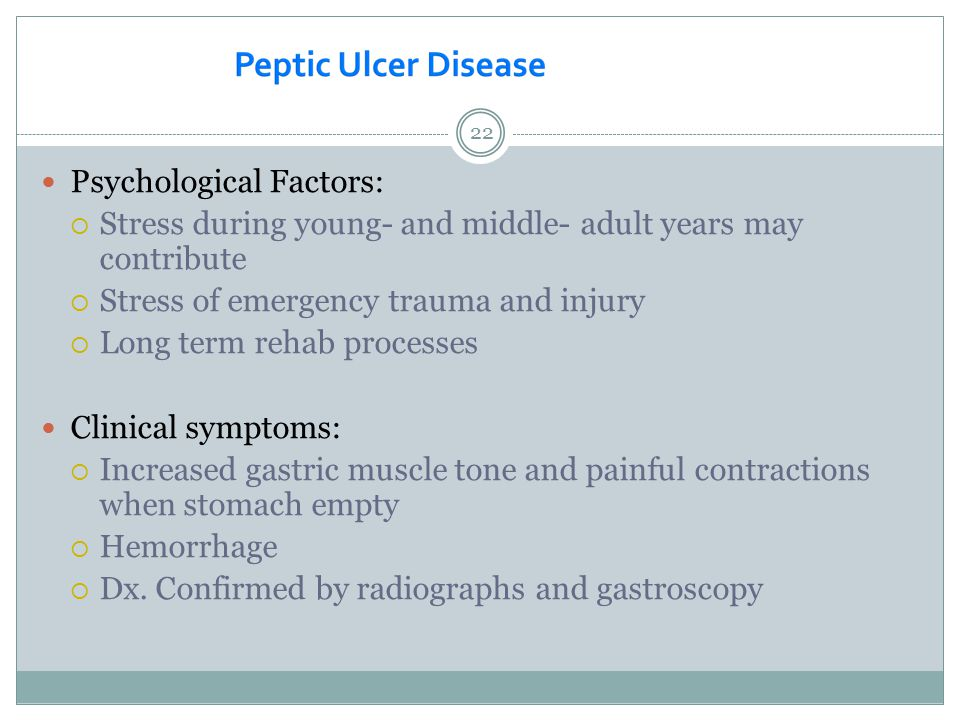Psychological Factors: