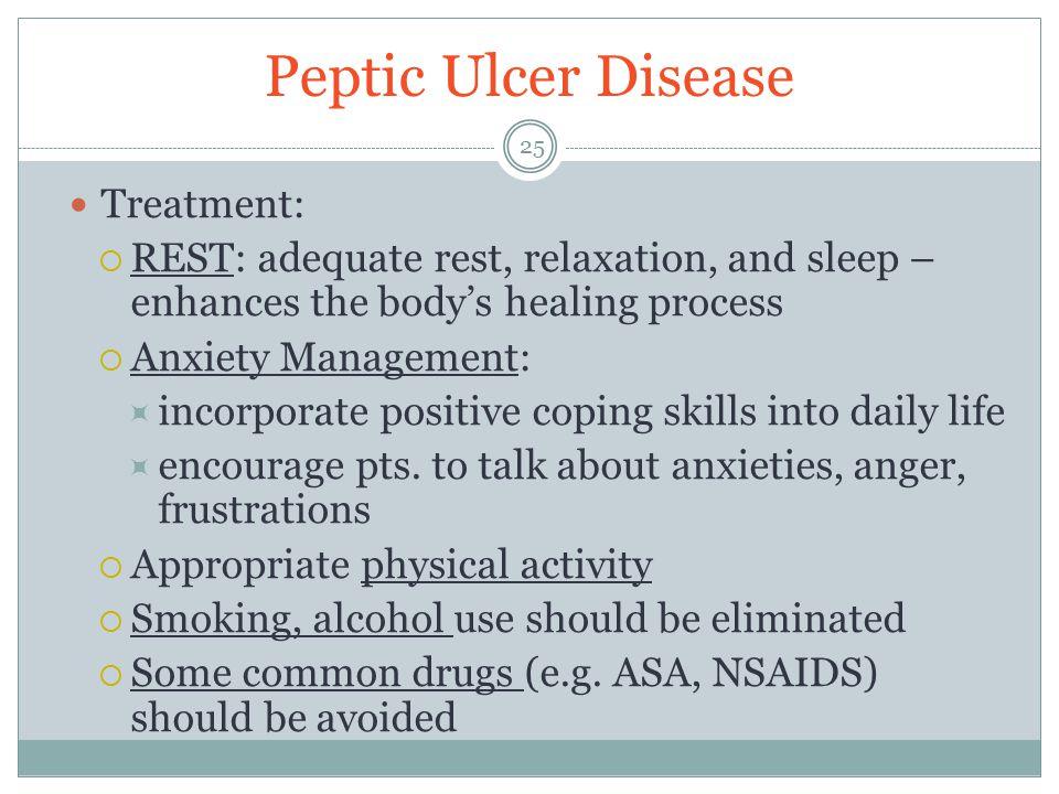 Peptic Ulcer Disease Treatment: