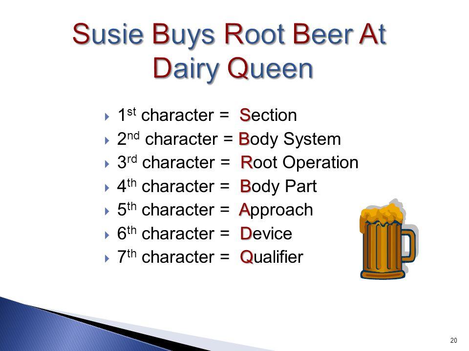 Susie Buys Root Beer At Dairy Queen