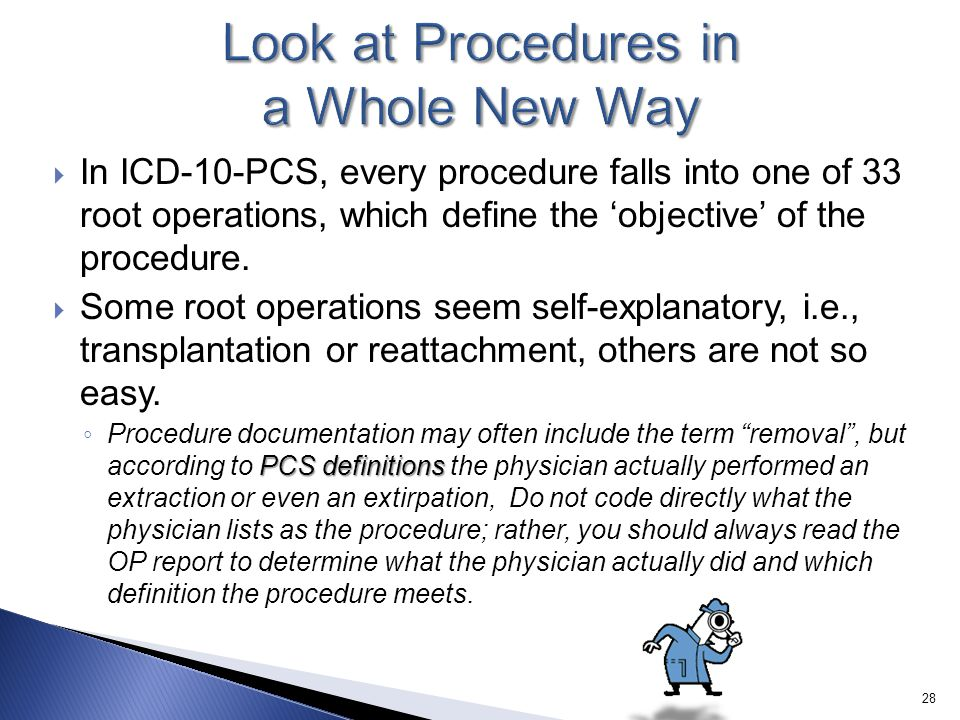 Look at Procedures in a Whole New Way