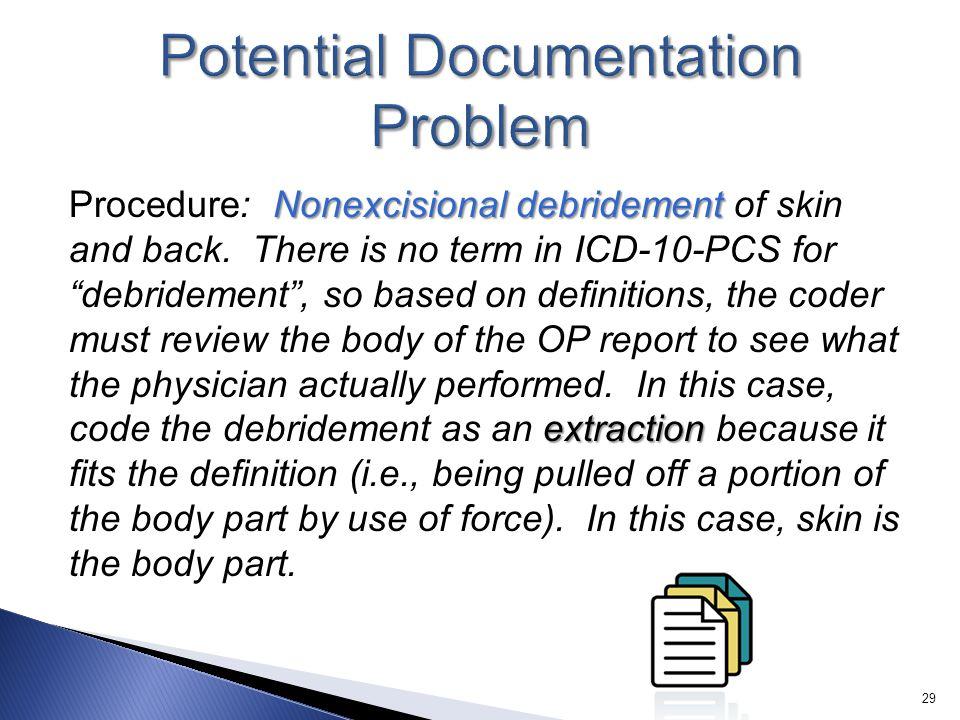 Potential Documentation Problem
