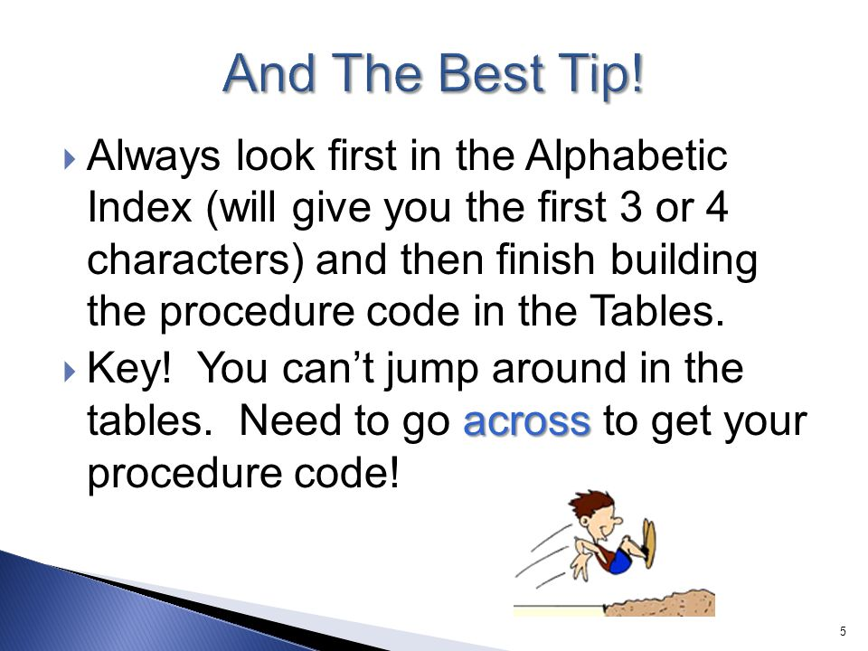 And The Best Tip!