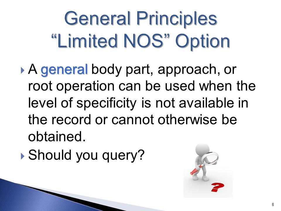 General Principles Limited NOS Option