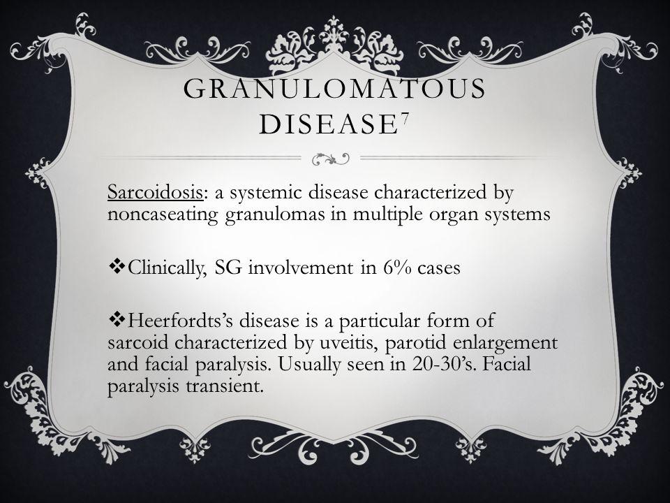 Granulomatous Disease7