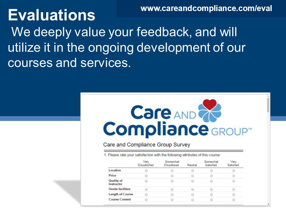 www.careandcompliance.com/eval