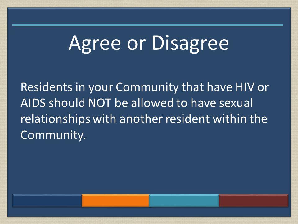 Agree or Disagree