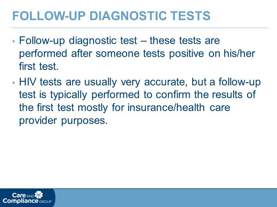 Follow-up Diagnostic Tests