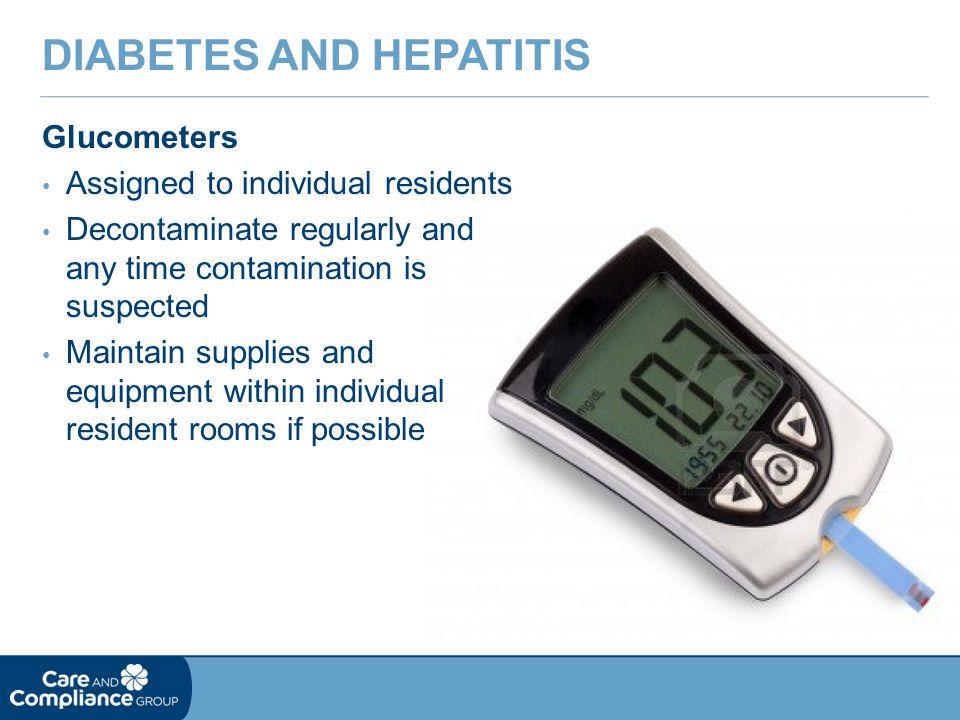 Diabetes and Hepatitis