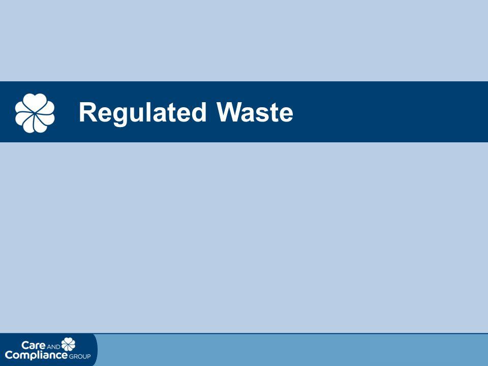 Regulated Waste