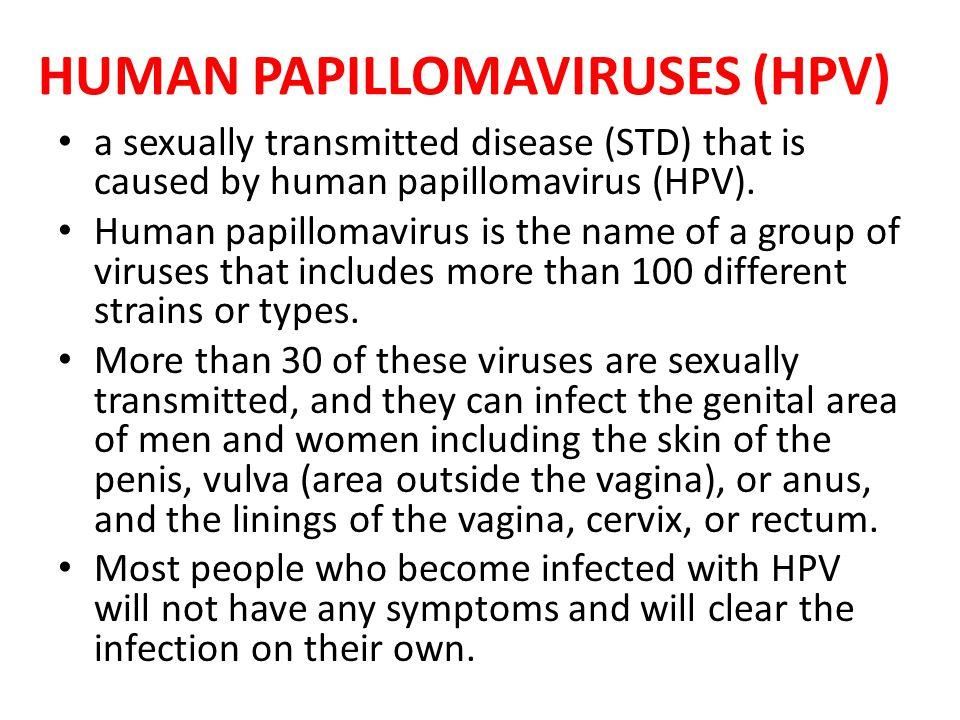 HUMAN PAPILLOMAVIRUSES (HPV)