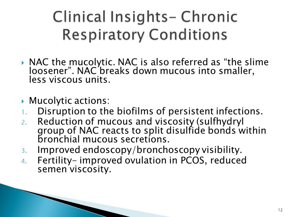 Clinical Insights- Chronic Respiratory Conditions