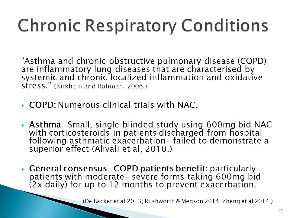 Chronic Respiratory Conditions