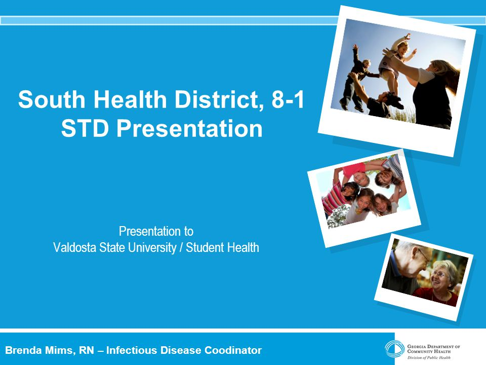 South Health District, 8-1 STD Presentation