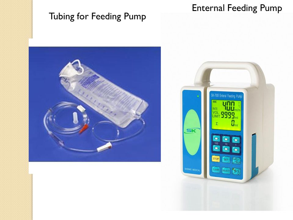 Enternal Feeding Pump Tubing for Feeding Pump
