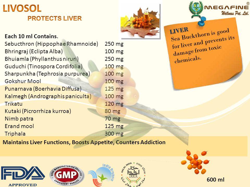 LIVOSOL PROTECTS LIVER LIVER