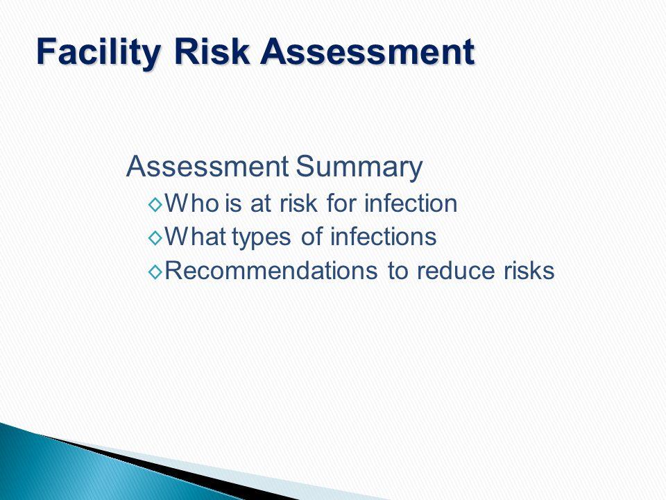 Facility Risk Assessment
