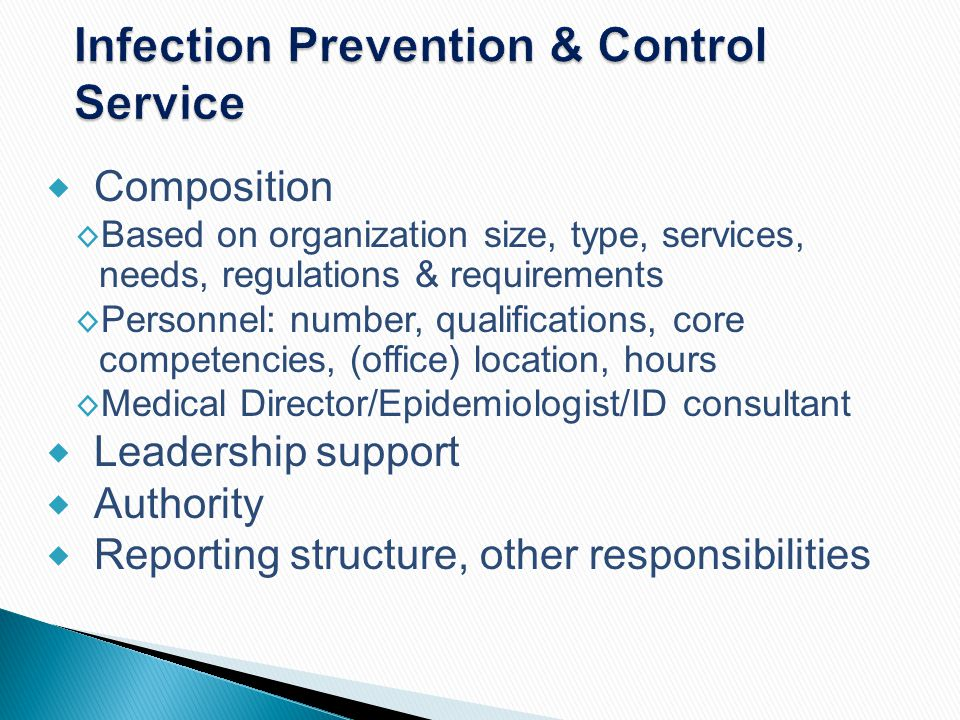 Infection Prevention & Control Service
