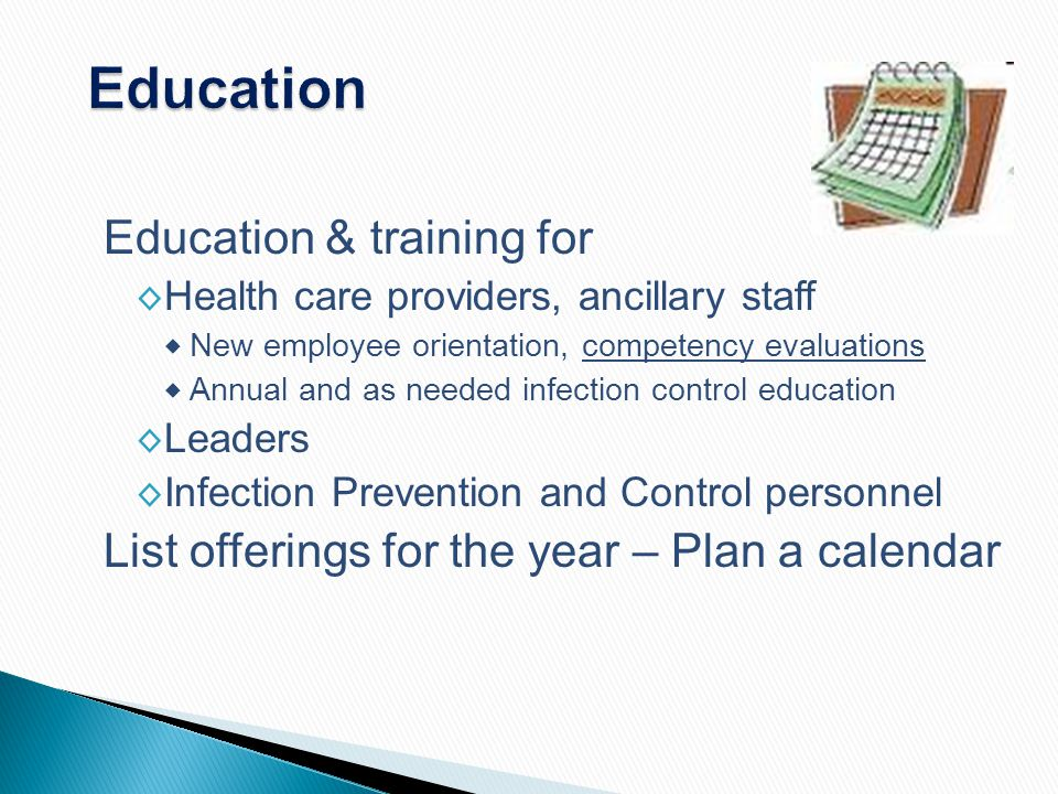 Education Education & training for