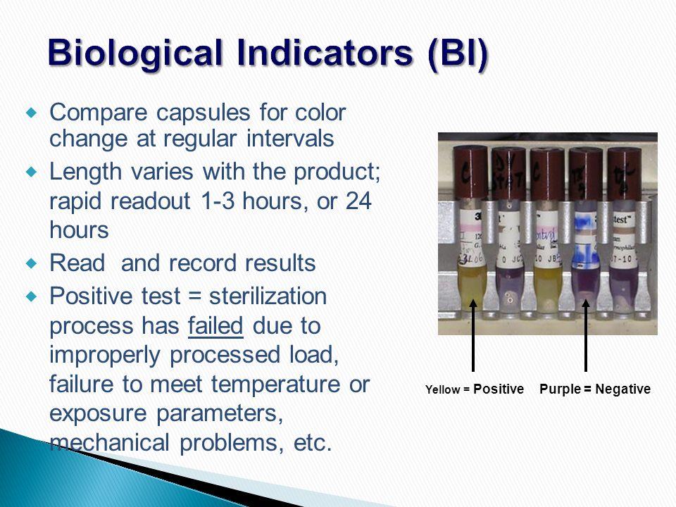 Biological Indicators (BI)