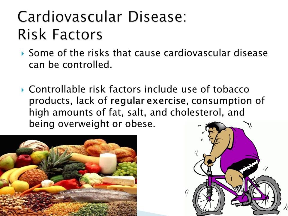 Cardiovascular Disease: Risk Factors