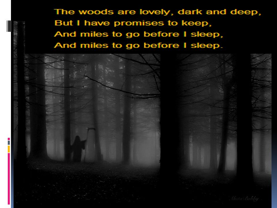 The wood is lovely dark and deep