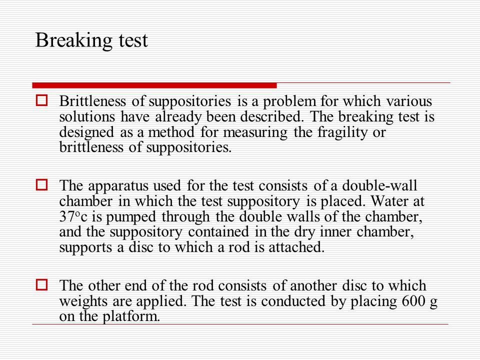 Breaking test